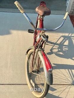 Vintage BF Goodrich 1952 red Schwinn Phantom! Rare collectible item