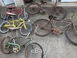 Vintage Bicycle Schwinn Fastback Stingray Wards Hawthorne