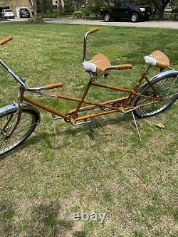 Vintage Chicago Schwinn Twinn Tandem Bicycle