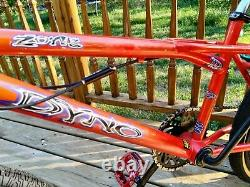 Vintage Dyno BMX Bike GT Performer Robinson Redline Compe Mag's Pegs