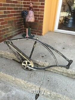Vintage Early/mid 60s Era 26 Schwinn 3 Speed Frame And Parts Dirty/good