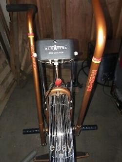 Vintage Gold Schwinn Airdyne Exercise Bike Used Broken Ergometer. LOCAL PICK UP