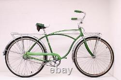 Vintage Green 1967 Schwinn Panther Bendix Yellow band 2-Speed Hub Restored