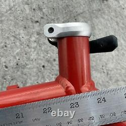 Vintage Homegrown Frame Set Schwinn Mountain Bike MTB Epicenter Tomato 20 135 mm