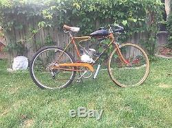 Vintage Motorized Moped Schwinn Mens Bicycle 1967