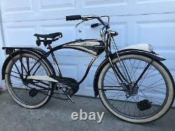 Vintage Original 1948 Circa Schwinn Excelsior B6 Cruiser