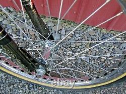Vintage Original 1985 Schwinn Predator Streetwise Black Chrome Bi-Oval BMX Bike
