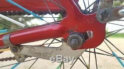 Vintage Original Chicago Schwinn American 1965 Red Chrome 26 S7 Cruiser Bicycle