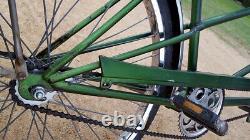 Vintage Original Chicago Schwinn Twinn Tandem Cruiser Bicycle Bendix Messenger