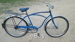 Vintage Original Chicago Schwinn Typhoon Full Size Adult Cruiser Bicycle 1978
