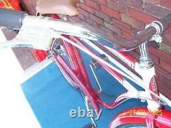 Vintage Original Paint 26 1955 Schwinn Flying Star Bicycle. 2 Speed Bendix