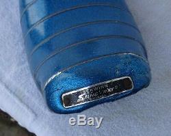 Vintage Original Schwinn Stingray Blue Glitter Banana Bike Bicycle Seat