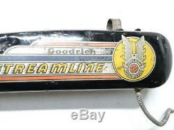 Vintage Prewar 1936 Bf Goodrich Streamline Hanging Tank Schwinn