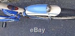 Vintage Prewar 1938 Schwinn Bf Goodrich Womens Balloon Tire Tank Bicycle