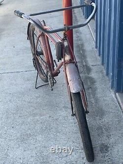 Vintage Prewar Excelsior Schwinn Bicycle