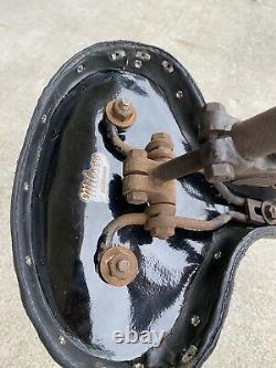 Vintage Prewar Schwinn Bicycle Autocycle Motorbike Pogo Seat Saddle