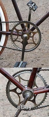 Vintage Prewar Schwinn Tall Frame Ranger Bicycle 28
