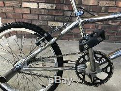 Vintage Rare Schwinn Predator Bmx Complete All Original Chrome 20 Bicycle