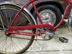 Vintage SCHWINN 1969 TYPHOON Bicycle Antique Vintage 26 Bendix Balloon Bike RED
