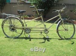 Vintage SCHWINN De Luxe 5-Speed Tandem TWINN Bicycle ORIGINAL 1969 AND/OR 70s