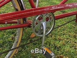 Vintage SCHWINN De Luxe TWINN red 5-Speed Tandem Bicycle ORIGINAL 1978 w. Manual