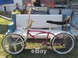 Vintage SCHWINN LOW RIDER Bike Chain Steering wheel Low Rider Collection Bicycle