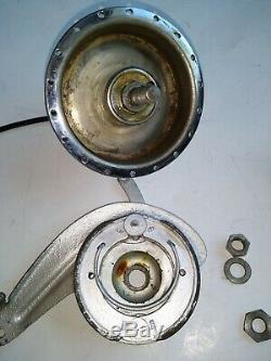 Vintage SCHWINN drum brake hub, PORK CHOP, HANDEL + CABLE 36 Holes ALL PICTURED