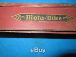 Vintage Schwinn 1928 MotoBike Hanging Tool Box Tank Used