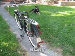 Vintage Schwinn 1941 DX Girls Northwest Patrol Wide Skip Tooth 26 Bicycle