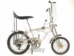 Vintage Schwinn 1971 Stingray Grey Ghost Krate Bicycle 5 Speed