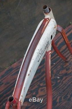 Vintage Schwinn 24 Hornet Bicycle FRAME TANK FORK CHAINGUARD DX Ballooner Bike