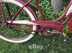 Vintage Schwinn 24-inch Hornet Starlett 1953 Old School Bicycle Pickup LI NY