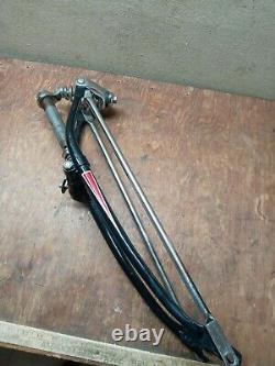 Vintage Schwinn 26 Black Phantom bicycle locking springer fork B6 Hornet panther