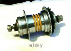 Vintage Schwinn Bendix Automatic Kickback 3 Yellow Bands Rear Hub 36 Hole G 9