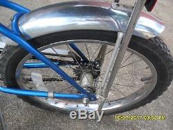 Vintage Schwinn Bicycle Blue 1979 Stingray