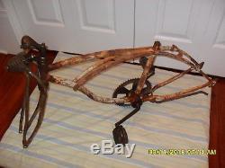 Vintage Schwinn Bicycle Frame 1970 Cotton Picker Krate (ROUGH)