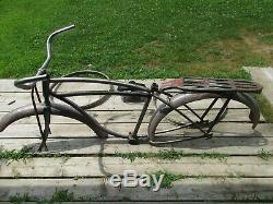 Vintage Schwinn Bicycle, Men's 26-For Parts, Restoration Project, #J28723