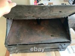 Vintage Schwinn Bicycle Metal Parts Box Cabinet GAS OIL COLA Store Display