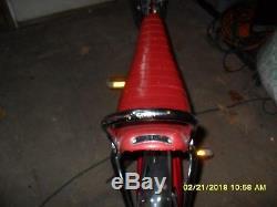 Vintage Schwinn Bicycle Red 1972 Stingray