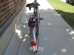 Vintage Schwinn Black Phantom Bicycle