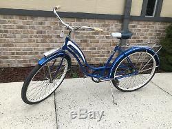 Vintage Schwinn Blue Fiesta