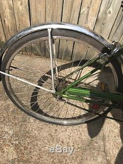 Vintage Schwinn Breeze Green Bike Cruiser Bicycle