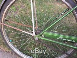 Vintage Schwinn Breeze Green Bike Cruiser Bicycle Made in USA