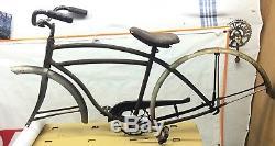 Vintage Schwinn DX Excelsior Tank Bike Frame Mens Skiptooth SENECA Project 1947