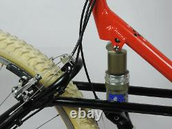 Vintage Schwinn Homegrown 1995 21col Full Suspension ControlTech Shimano XT FOX