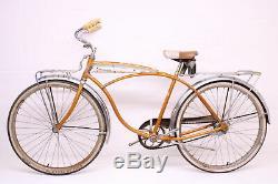 Vintage Schwinn Jaguar VI 6 1964 2 Speed Kickback 4 Tip Rack Coppertone Bike
