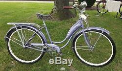 Vintage Schwinn Ladies Bicycle Tank Bike Working Horn MCM