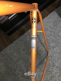Vintage Schwinn Le Tour III Frame Burnt Orange HTF Cycle Bicycle Road Bike