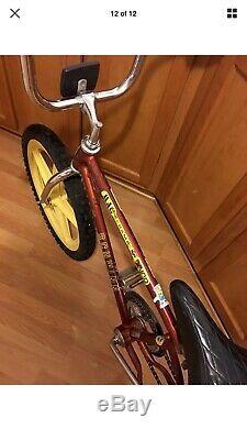Vintage Schwinn Mag Scrambler SX100 Freestyle Bmx Bike 1978 Boys 20 Thrasher OG