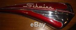 Vintage Schwinn Mark IV Corvette Mens Balloon 26 Bike Chrome Tank